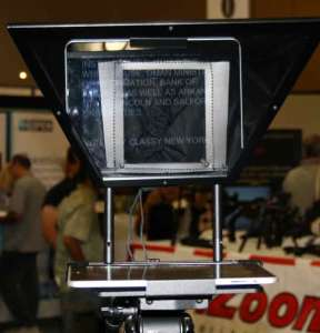 Teleprompter Video Expo Pasadena September 2012