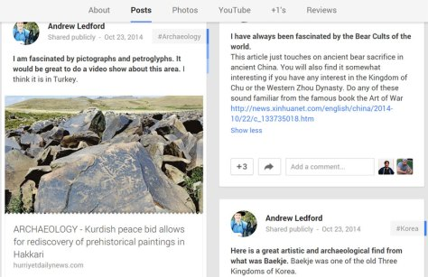 Andrew's Google Plus Profile 11-4-14