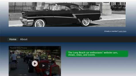 Long Beach Car Show Website Is For Sale