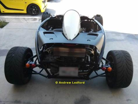 Ariel Atom Rear View At MADNESS Autoworks Long Beach , CA