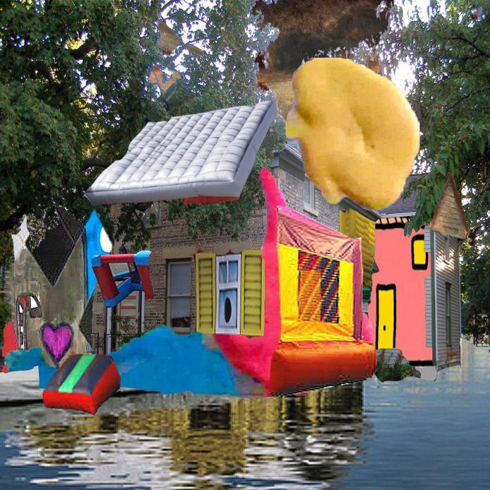 neighborhood #1, 2015Mixed Technique, Digital Collage