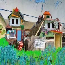 neighborhood #7, 2015Mixed Technique, Digital Collage