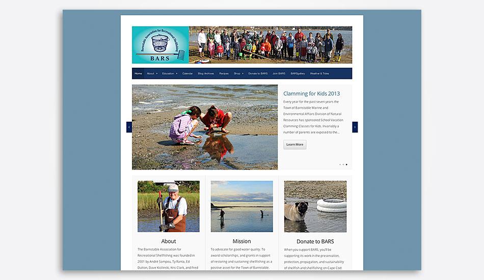 Barnstable Association for Recreational Shellfishing website
