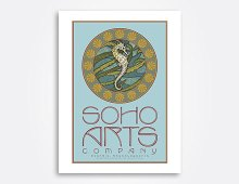 Soho Arts Company poster design