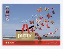 picnic fashion prelaunch website design