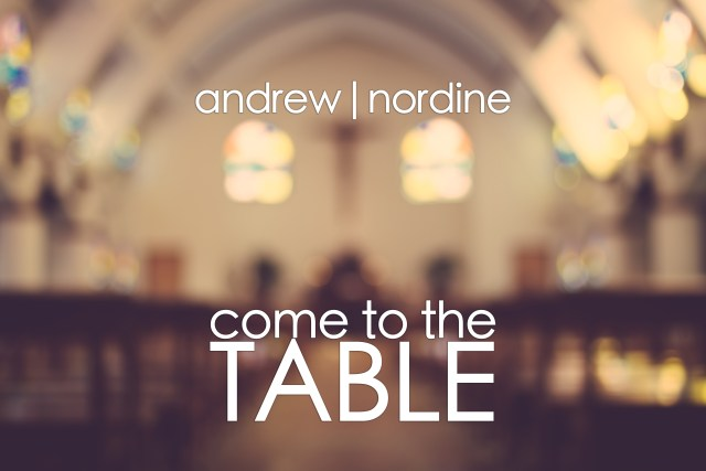 Come to the Table is Now on iTunes!