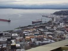 Ships docked at Elliott Bay