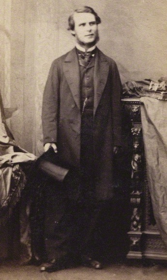 John Loughborough Pearson (1817-97), c.1861. National Portrait Gallery London, with permission.