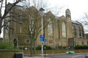 St Benet's Kentish Town, exterior, south side.