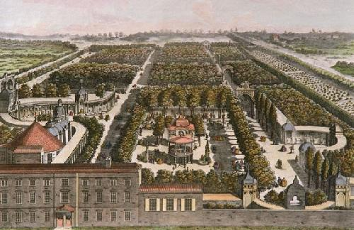 Vauxhall Pleasure Gardens, c 1761,