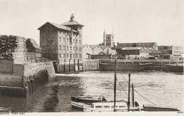 Barking mill, Barking quay, late c19