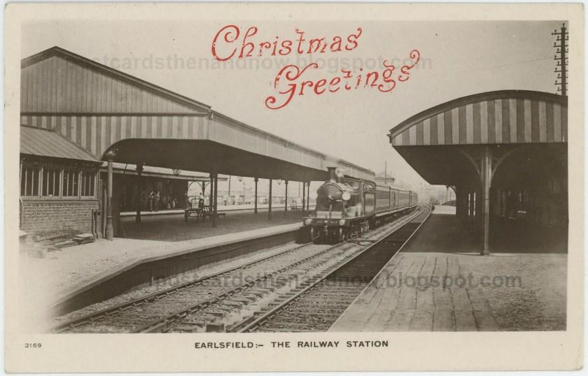 Earlsfield Station, platform level, early c.20