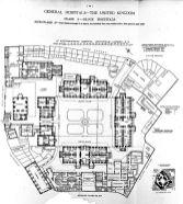 Plan of St Bartholomew's Hospital, Smithfield, 1893.