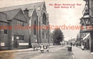St Mary-of-Eton church (1890), London E9, viewed from the south east c.1906