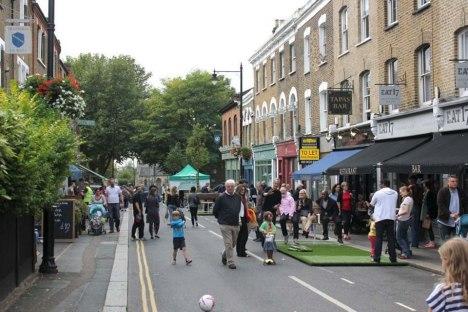 'Walthamstow Village' c.2016. https://www.gov.uk/government/case-studies/public-space-improvements-walthamstow-village
