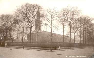 St Peter's Church, Liverpool Gardens, Walworth, c.1905