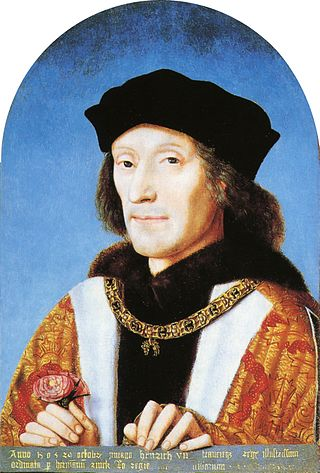 Anonymous portrait c.1505 of Henry VII (1457–1509),