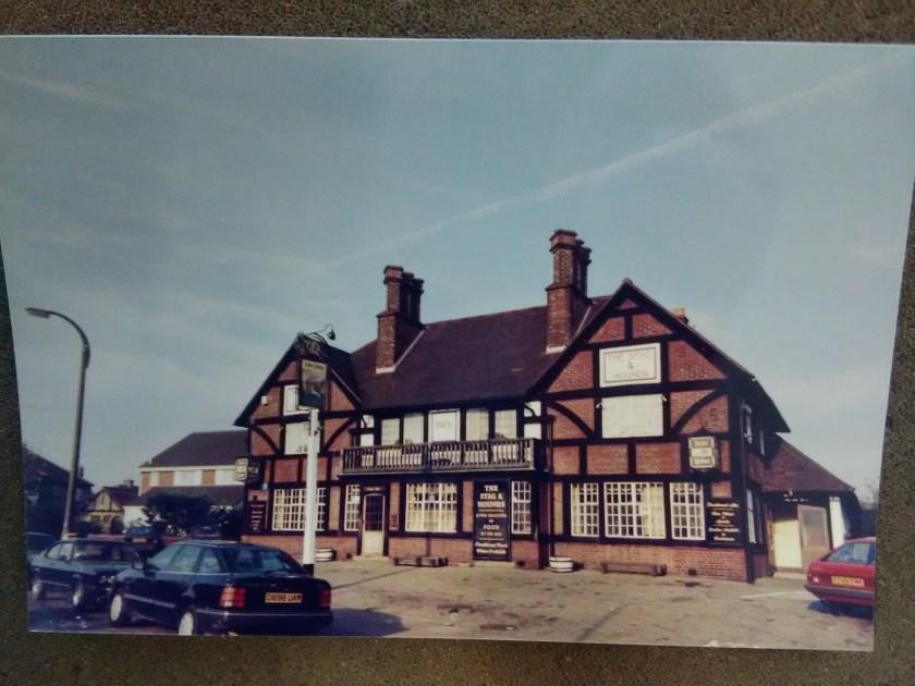 The Stag and Hounds public house, Bury Street, Edmonton, north London, late c20, anon. Source: The Jones-Jones Collection, London Metropolitan Archive.