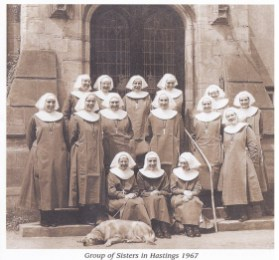 Sisters of the Community of St John the Divine in Hastings (1967).