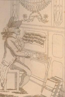 Organist at Bagnigge Wells