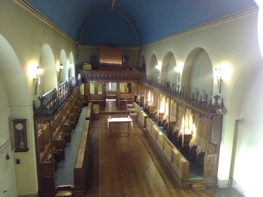 Haggerston Priory (London UK), chapel