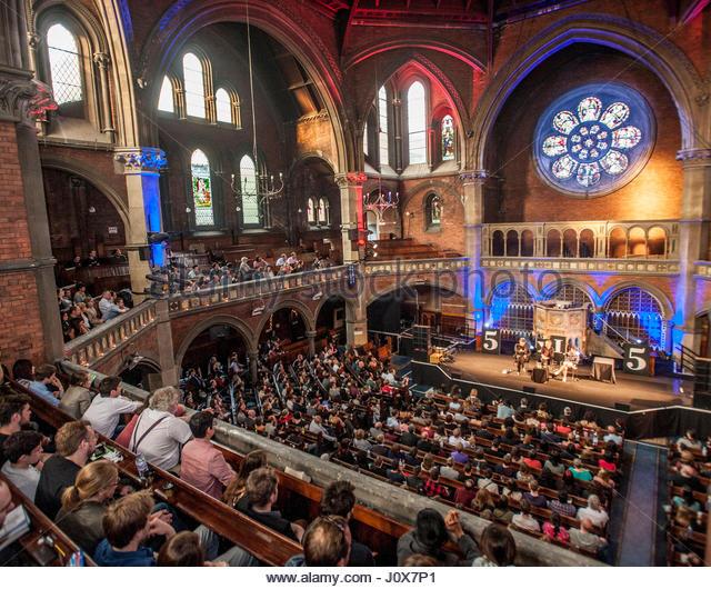 The Union Chapel, Compton Terrace, Islington, London, UK (c.2015 [Source: alamy.com]