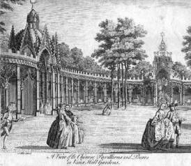 Chinese Pavillion, Vauxhall Pleasure Gardens, mid eighteenth-century