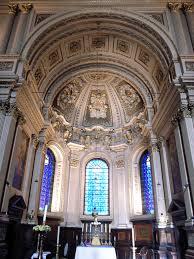 St Mary-le-Strand, chancel, c.2015