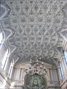St Mary-le Strand, nave ceiling, c.2015