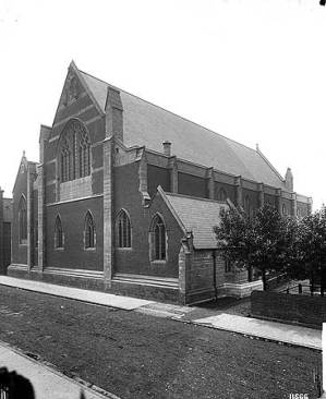 St Mary-of-Eton church (1890), London E9, viewed from the north east c.1892