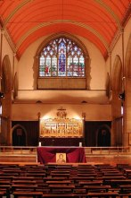 St Mary-of-Eton church (1890), London E9, the sanctuary c.2015