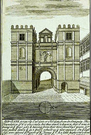 The City of London's Aldgate, c.1609