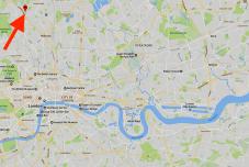 Location of St Augustine-of-Canterbury church, Highgate,London N6 5QG