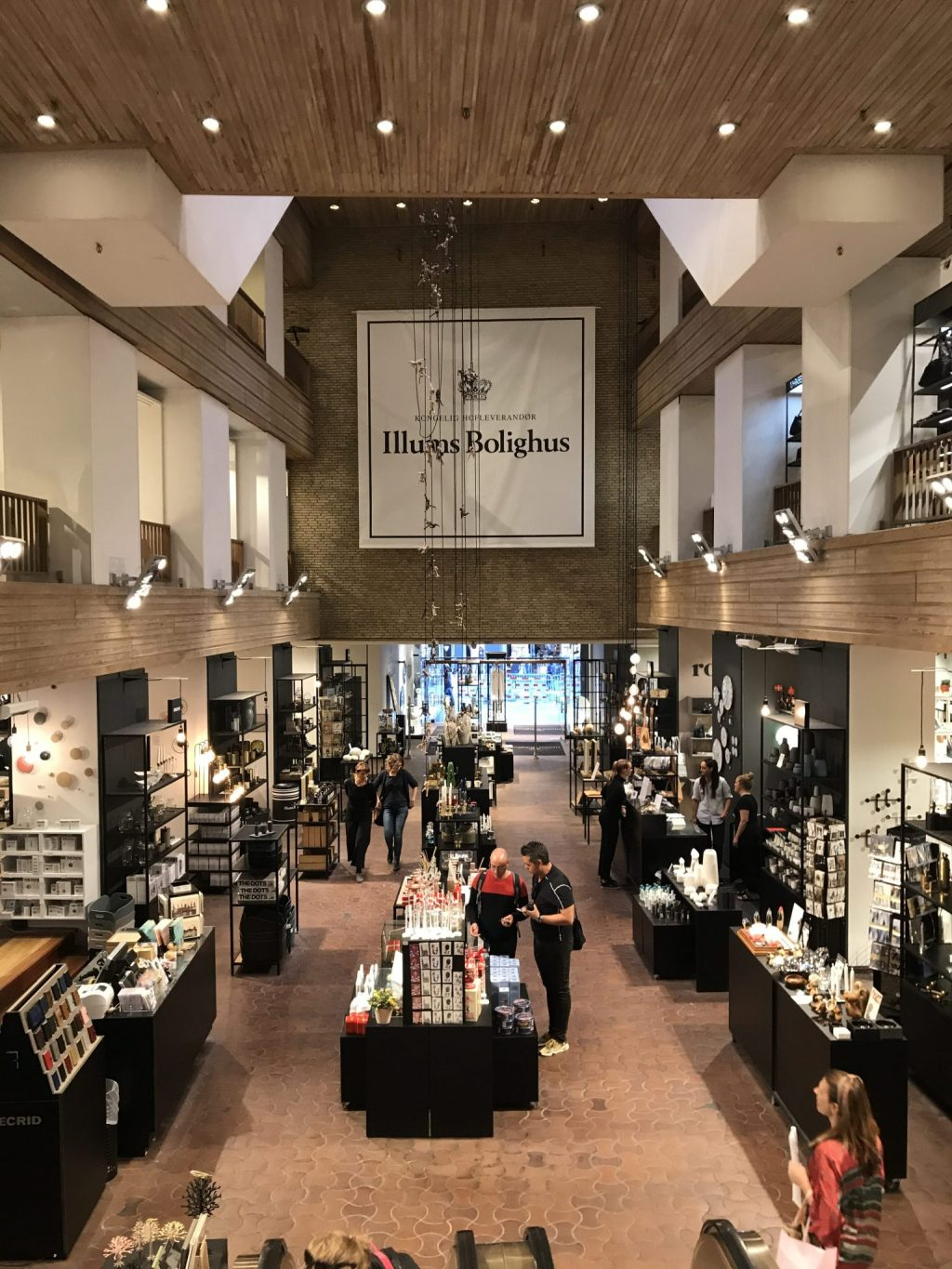 Unbelievable Variety of Furniture, Accessories & Homeware on Display in the Illums Bolighus Store in Central Copenhagen.