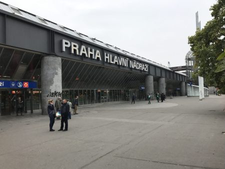 Prague's Main Railway Station Provides Arteries to Central Europe & Was Originally Opened in 1871.