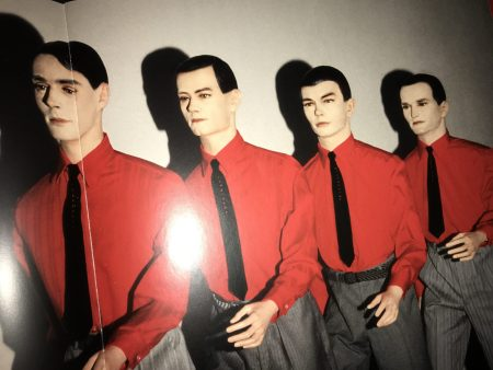 Perhaps Kraftwerk's Defining Imagery From the Man Machine Album Era in 1978.