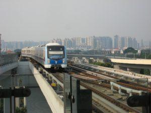 Subway System at Guangzhou