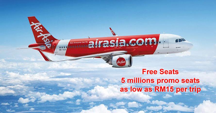 AirAsia Buat Hal Buat Kaki Travel Gelisah