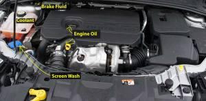 Ford Focus tdci 15 diesel Engine Diagram | Andrew's Driving