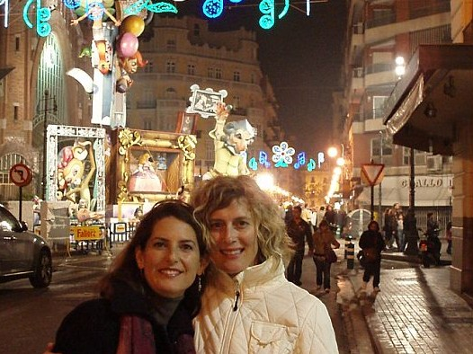 suzanne-and-dee-at-fallas-in-valencia-spain