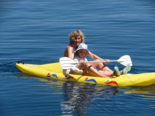 Turkey Sailing Dee Grace in Kayak