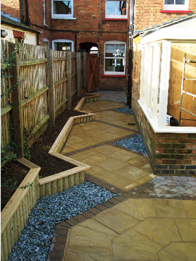 Andrew Spacie Landscape Garden Projects A Long Narrow