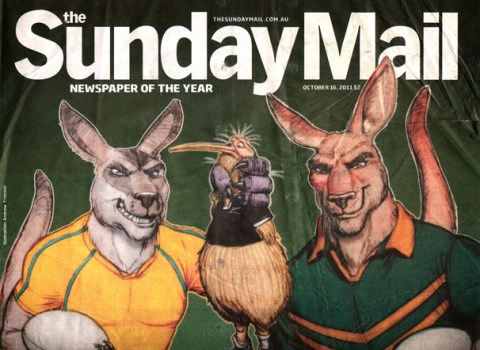 Sunday Mail Cover