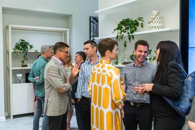 Image of guests socialising at Nova City Cairns Launch