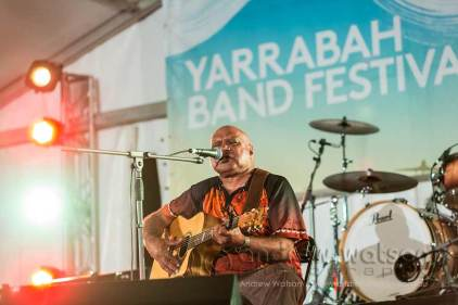 Image of Archie Roach performing at Yarrabah Band Festival