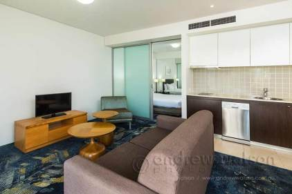 Image of one bedroom apartment at Cairns Harbour Lights