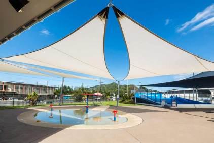 Image of the toddler pool at Tobruk Memorial Pool