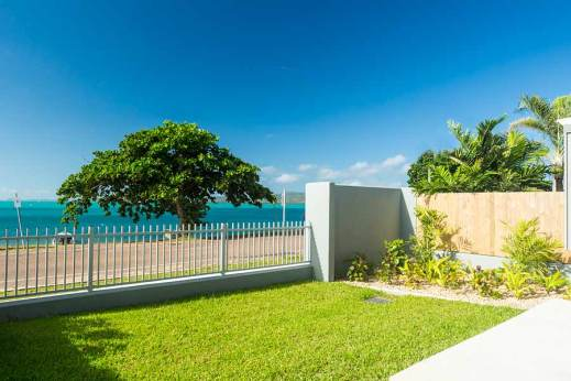 Image of unit housing development garden, Thursday Island