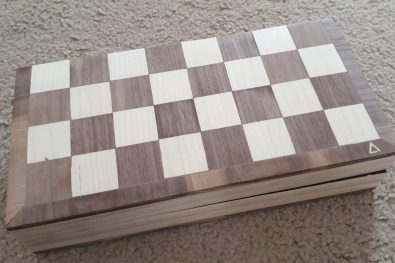 Closed Travel Chess Set