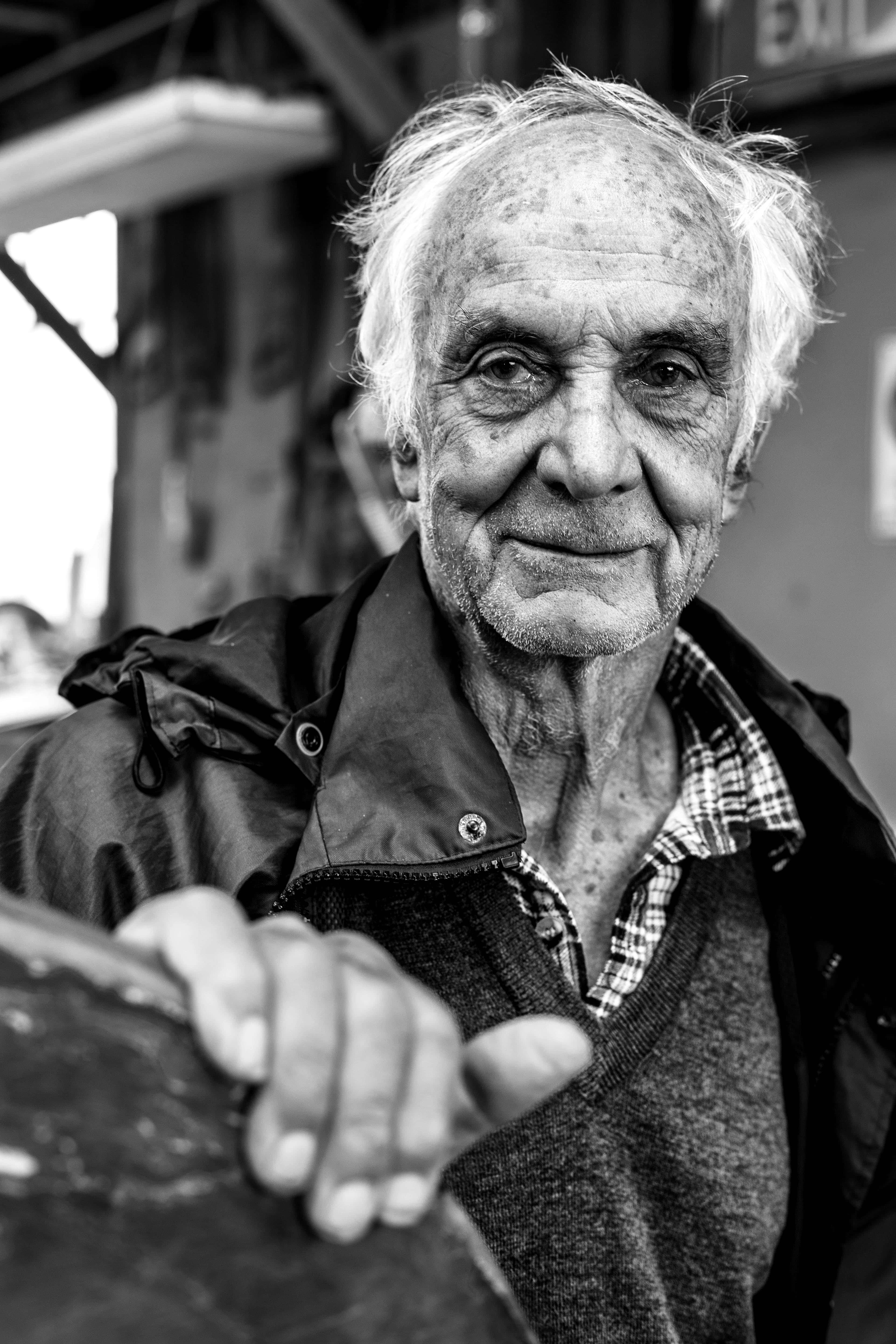 Portrait photography of John Young